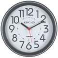 Kincaid Clocks 11.75'' Always Set Cubicle Wall Clock
