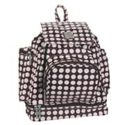 Kalencom Backpack Diaper Bag; Chocolate Pink