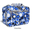 J World Cody Lunch Bag with Shoulder Strap; Chess Blue