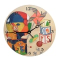 Lexington Studios Children and Baby 10'' Toys Wall Clock