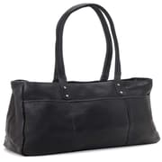 Le Donne Leather Traveler Tote; Black