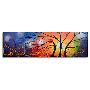 My Art Outlet Ethereal Trees Dance Painting on Canvas