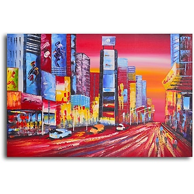 My Art Outlet Fast Track Original Painting on Wrapped Canvas