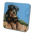 Lexington Studios Animals Rotty Tiny Times Clock