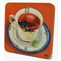 Lexington Studios Home and Garden Cup of Tea Tiny Times Clock