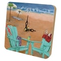Lexington Studios Travel and Leisure Skinny Dipping Tiny Times Clock