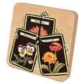 Lexington Studios Seed Packet Gardening Tiny Times Desk Clock