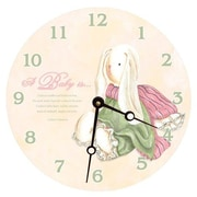 Lexington Studios 10'' Baby Bunny Wall Clock