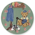 Lexington Studios 18'' Brad's Bear Wall Clock