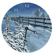 Lexington Studios 18'' Fresh Snow Wall Clock