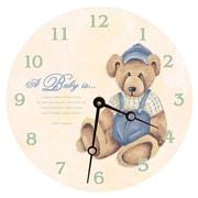 Lexington Studios 10'' Baby Bear Wall Clock