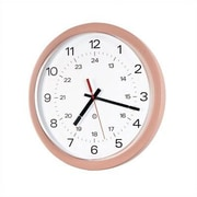 Peter Pepper 14'' Wall Clock; Aluminum Metallic