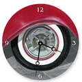 Lexington Studios 10'' Wall Tire Wall Clock
