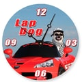 Lexington Studios 18'' Lap Dog Wall Clock