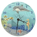 Lexington Studios 10'' Under the Sea Wall Clock