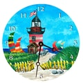 Lexington Studios Travel and Leisure 10'' Light House Wall Clock