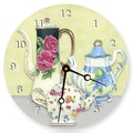 Lexington Studios 18'' Chic Teapots Wall Clock