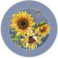 Lexington Studios 18'' Tuscan Sunflowers Wall Clock
