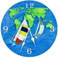Lexington Studios 18'' Summer Sail Wall Clock