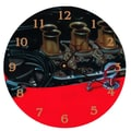 Lexington Studios 10'' Vintage Engine Wall Clock