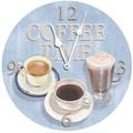 Lexington Studios 18'' Coffee Time Wall Clock