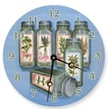 Lexington Studios 10'' Herbs Wall Clock