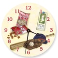 Lexington Studios Sports 10'' Baseball Wall Clock