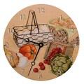 Lexington Studios Home and Garden 18'' Recipes Wall Clock