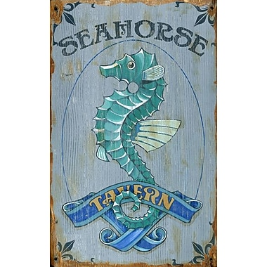 Vintage Signs Red Horse Seahorse Vintage Advertisement Plaque