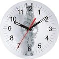 Maples Clock Oversized 24'' Moving Gear Wall Clock
