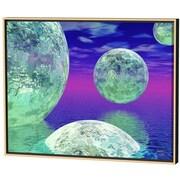 Menaul Fine Art Spheres Limited Edition by Scott J. Menaul Framed Graphic Art; 22 x 28