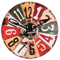 Wilco Oversized 29'' License Plate Wall Clock