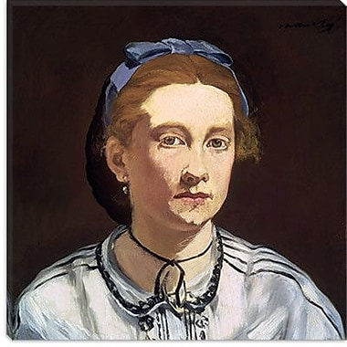 iCanvas ''Victorine Meurent'' by Edouard Manet Painting Print on Wrapped Canvas