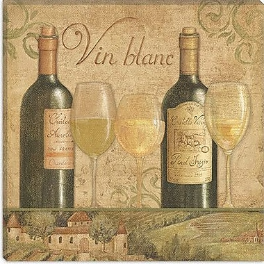 iCanvas ''Vineyard Flavor I'' by Daphne Brissonnet Painting Print on Wrapped Canvas