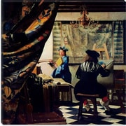 iCanvas ''The Art of Painting'' Canvas Wall Art by Johannes Vermeer; 12'' H x 12'' W x 1.5'' D