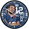 Wincraft NFL 12.75'' Andrew Luck Wall Clock