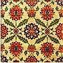 iCanvas Velvet Silk Carpet from Indian Mughal Empire