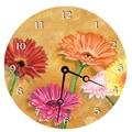 Lexington Studios Home and Garden 18'' Gerber Daisy Wall Clock