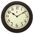 Geneva Clock Geneva 15'' Wall Clock