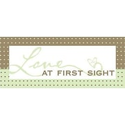 Forest Creations Love At First Sight Kids Textual Art on Canvas; Green