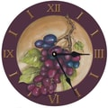 Lexington Studios 10'' Vinyard Grape Wall Clock