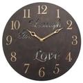 Geneva Clock Geneva 12'' Wall Clock