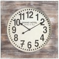 Cooper Classics Oversized 27'' Augusta Wall Clock
