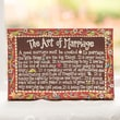 Glory Haus Art of Marriage Table Top Textual Art on Canvas