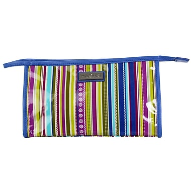 Hadaki Toiletry Pod Coated; Cobalt Stripes