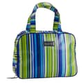 Hadaki Make-Up Case Pod Coated; Jazz Stripes Cobalt