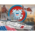 Holland Bar Stool US Armed Forces Graphic Art on Canvas; Coast Guard