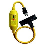 Morris Products In-Line Portable GFCI Tri-Tap for Personal Protection