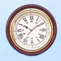 Handcrafted Model Ships Ship 12'' Wall Clock