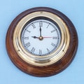 Handcrafted Model Ships 7'' Nautical Wall Clock